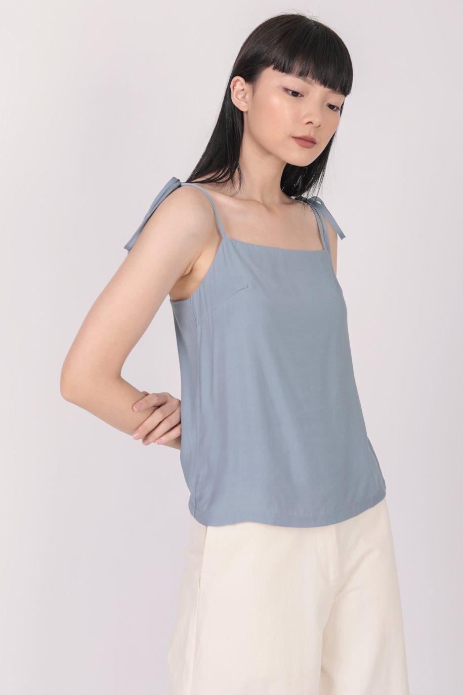 Jodie Spag Top (Blue)