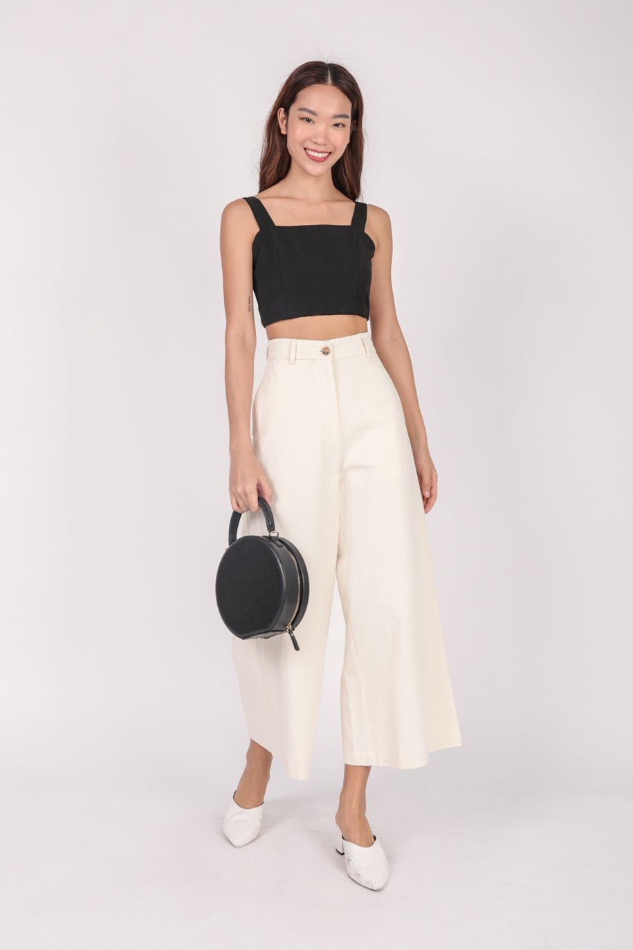 Billy Cropped Top (Black)