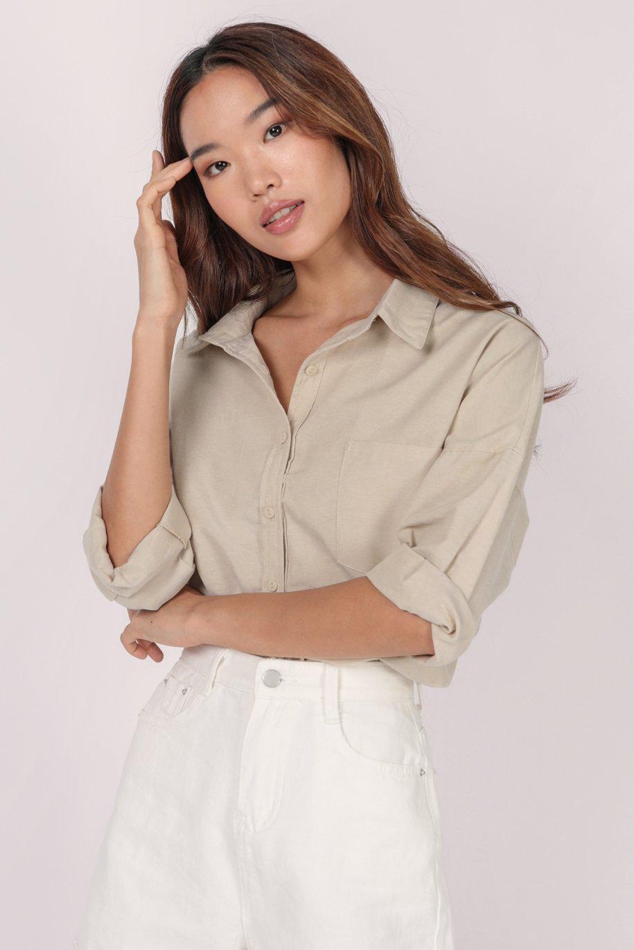 Everyday Denim Shorts (White)