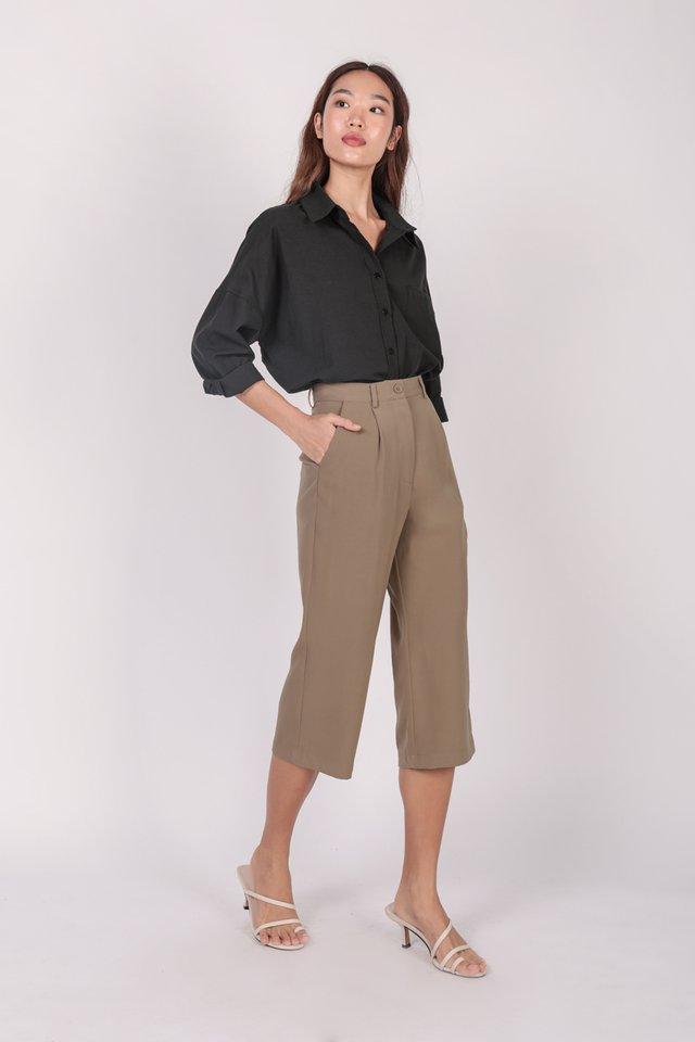 Clan Straight Leg Culottes (Mocha)