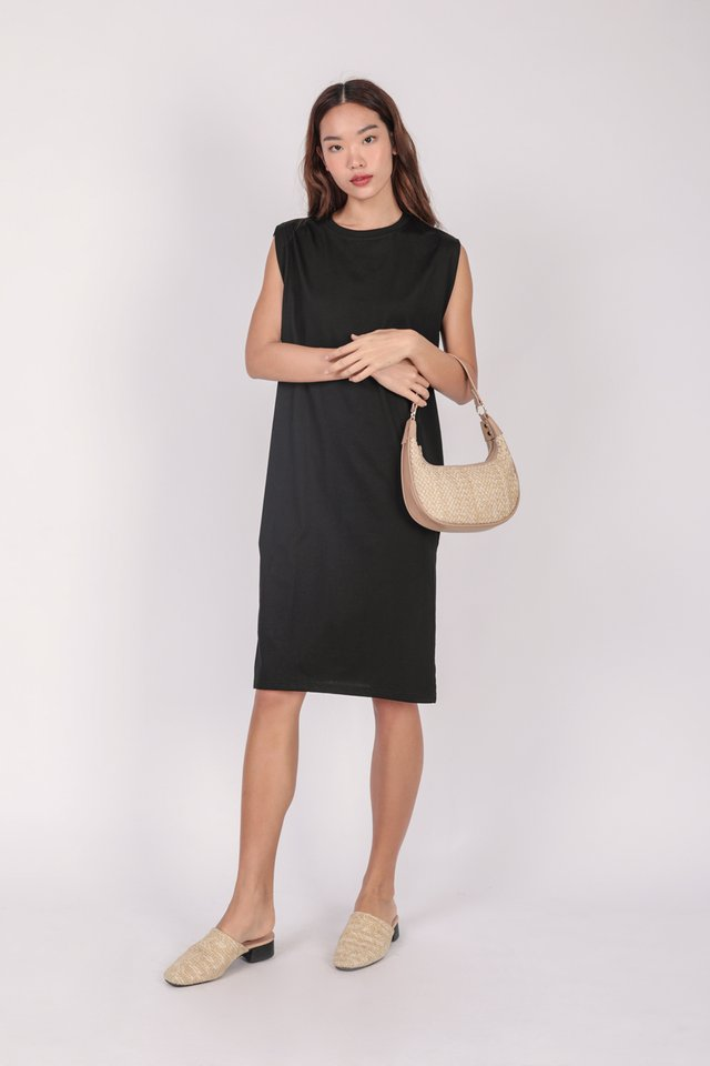 Randall Midi Dress (Black)