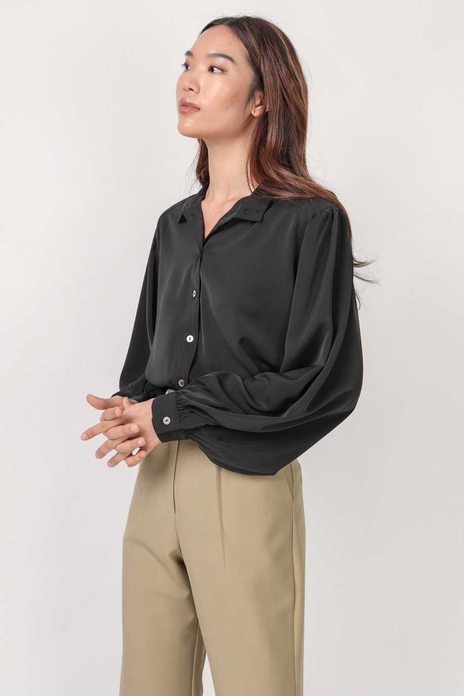 Colby Blouse (Black)