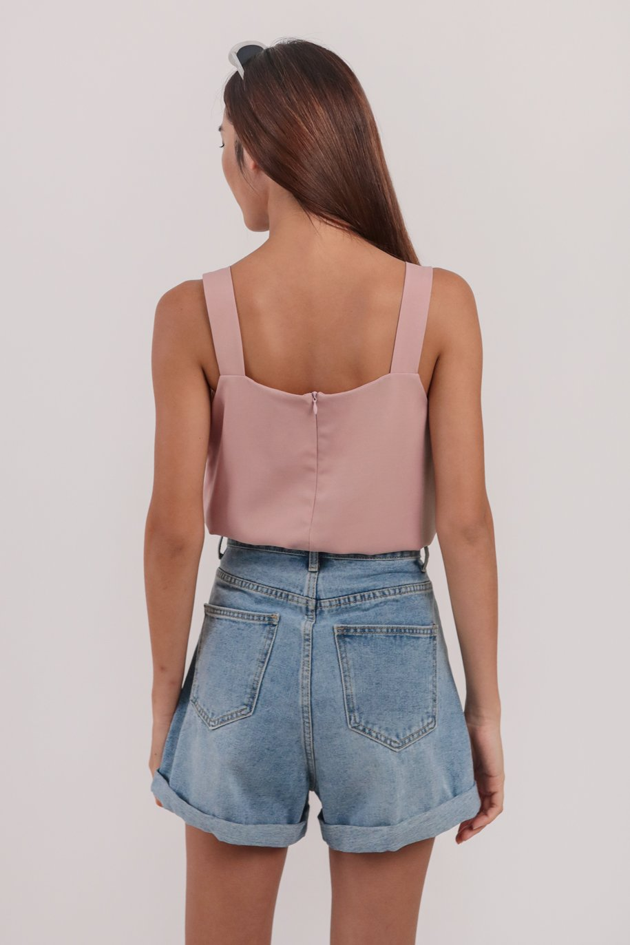 Lexa Basic Top (Dusty Pink)