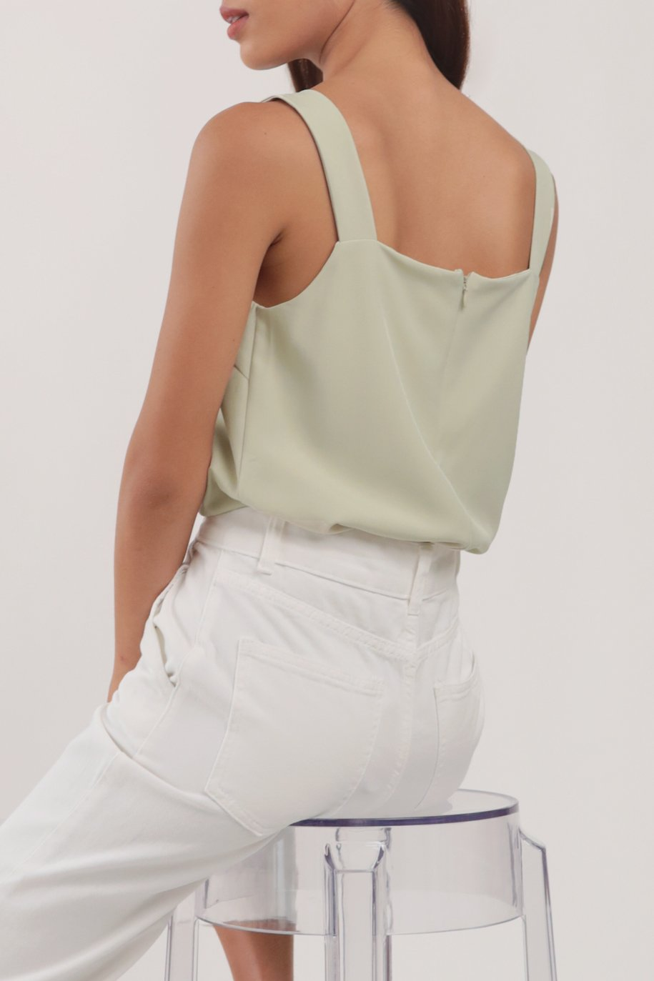 Lexa Basic Top (Light Mint)