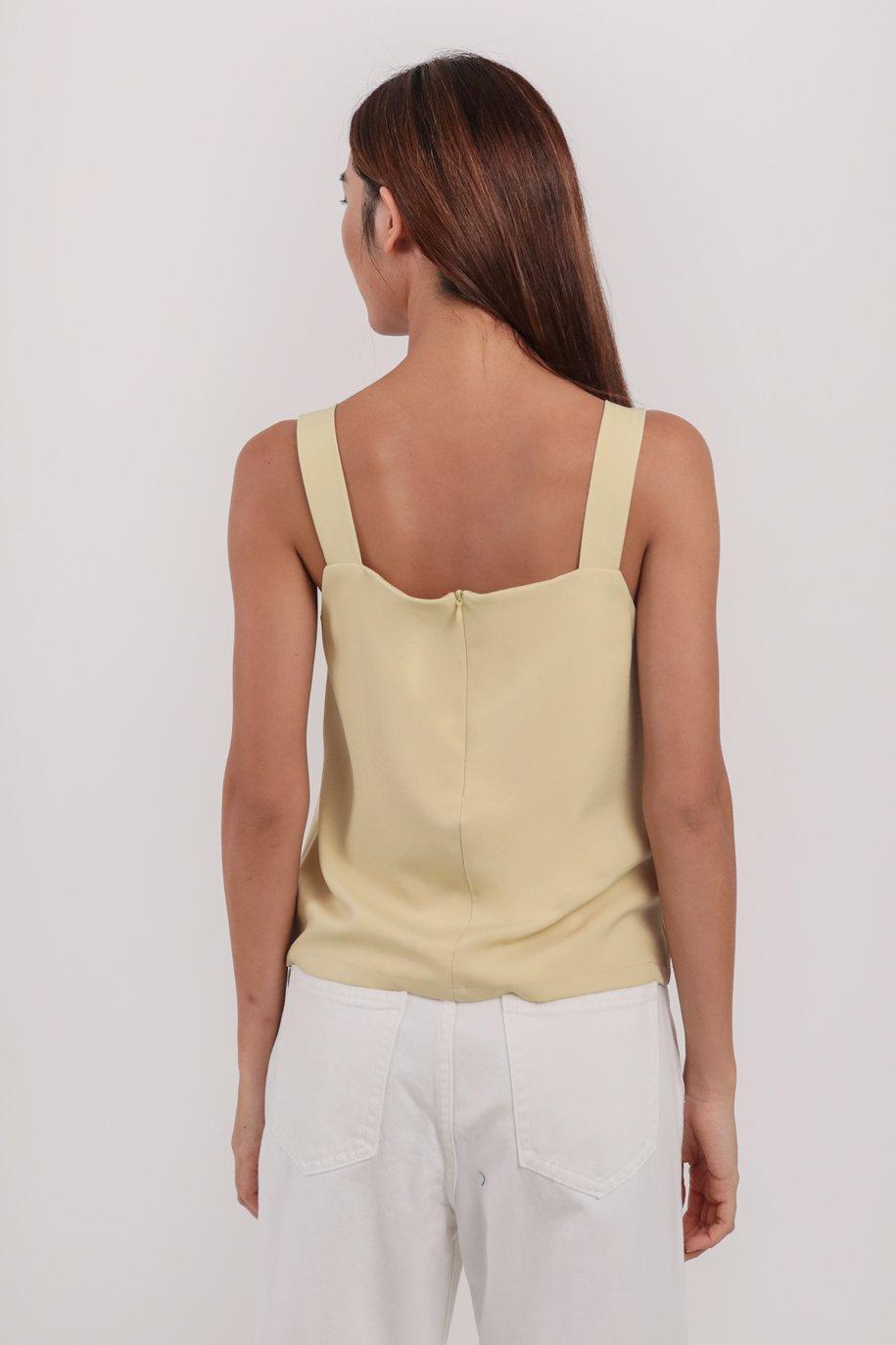 Lexa Basic Top (Pale Yellow)