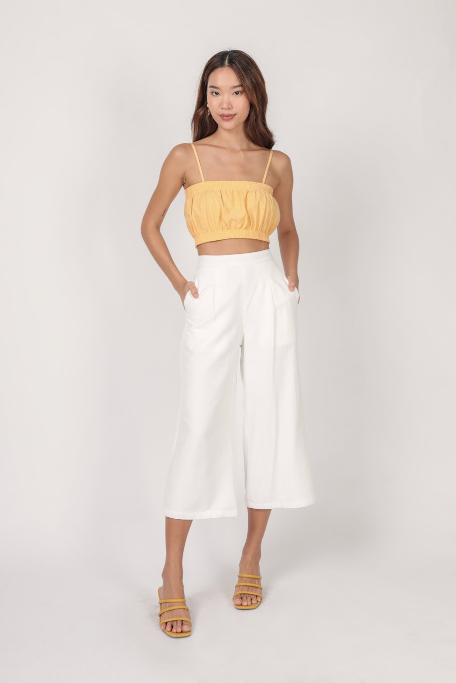 Mallory Cropped Top (Marigold)
