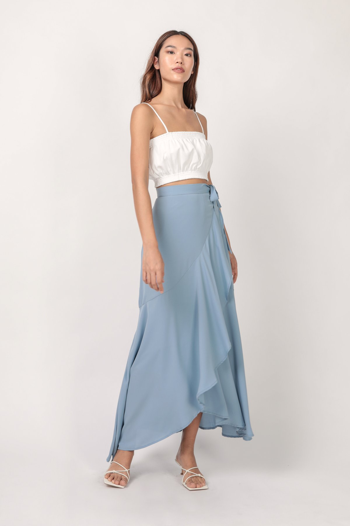 Sarina Maxi Skirt (Sky)