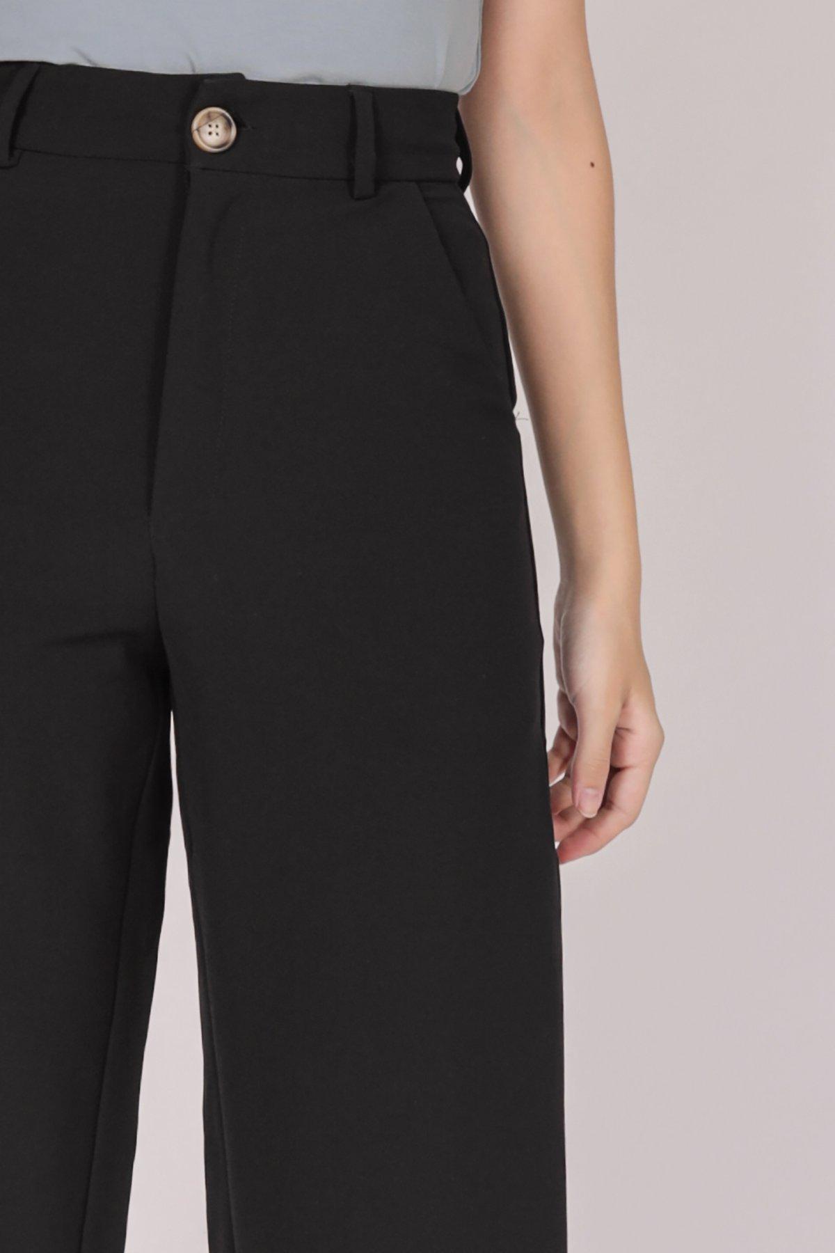 Baxter Cuffed Pants (Black)