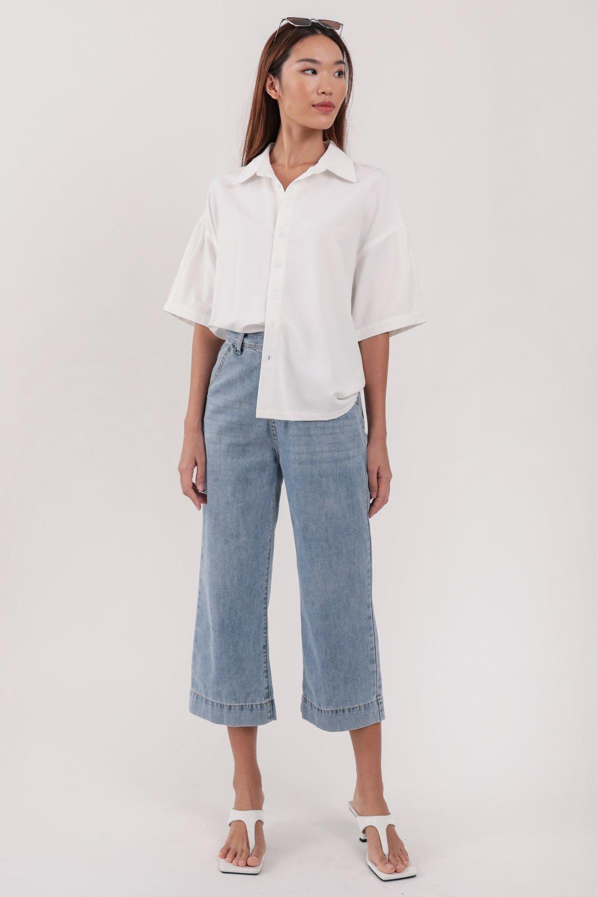 Beyond Boyfriend Shirt (White)