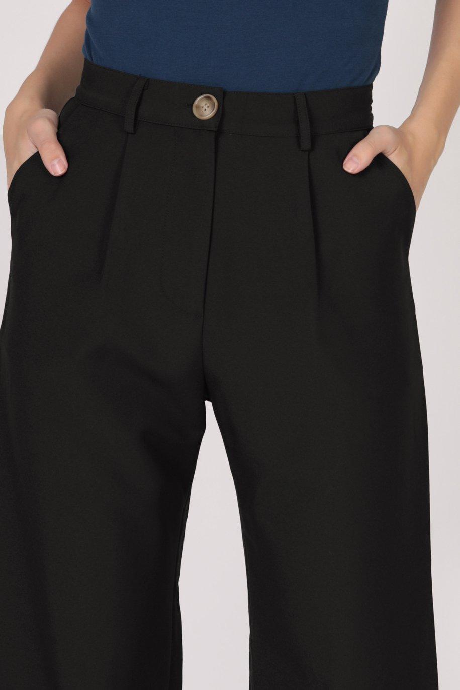 Cameron Straight Leg Pants (Black)