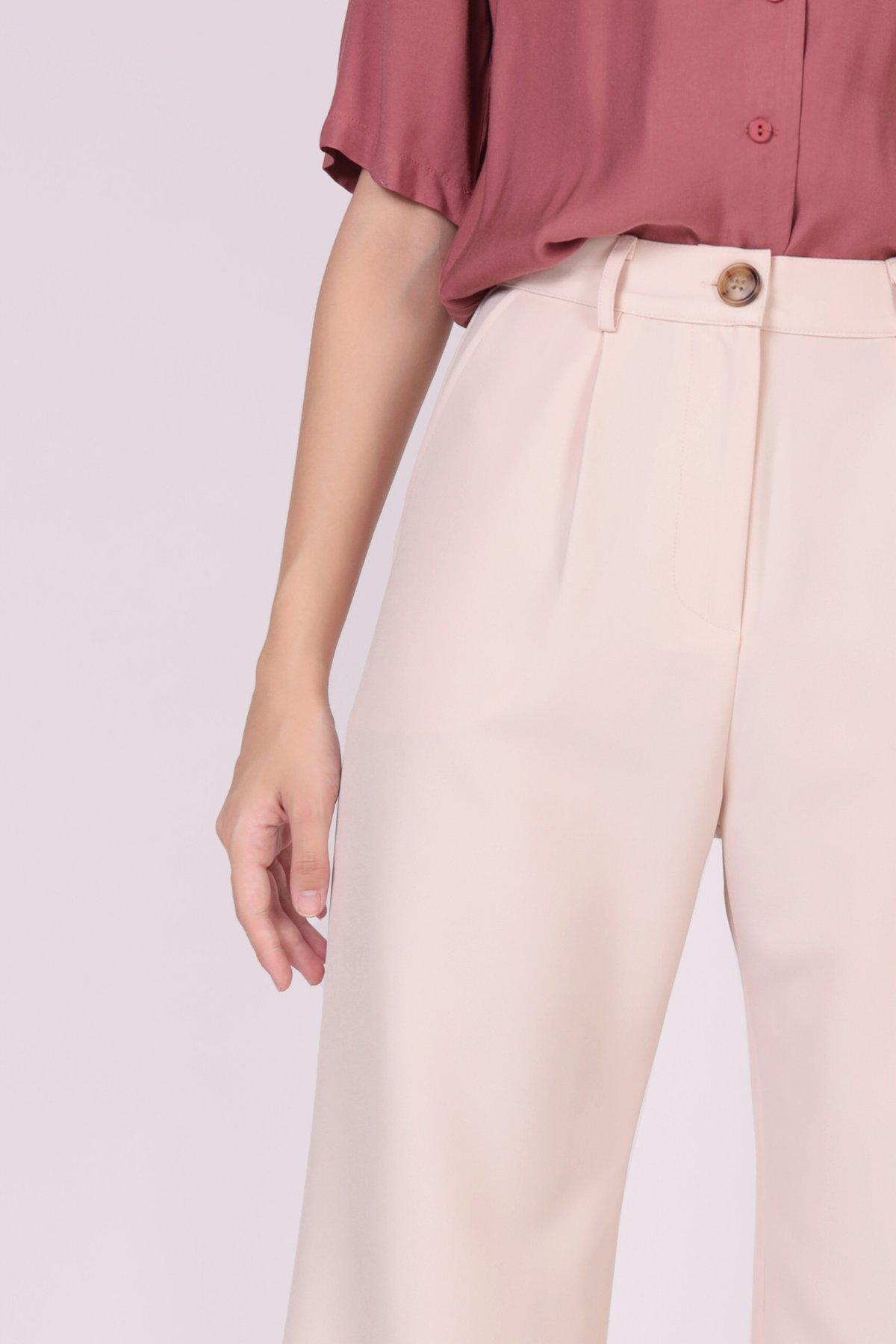 Cameron Straight Leg Pants (Peony Pink)