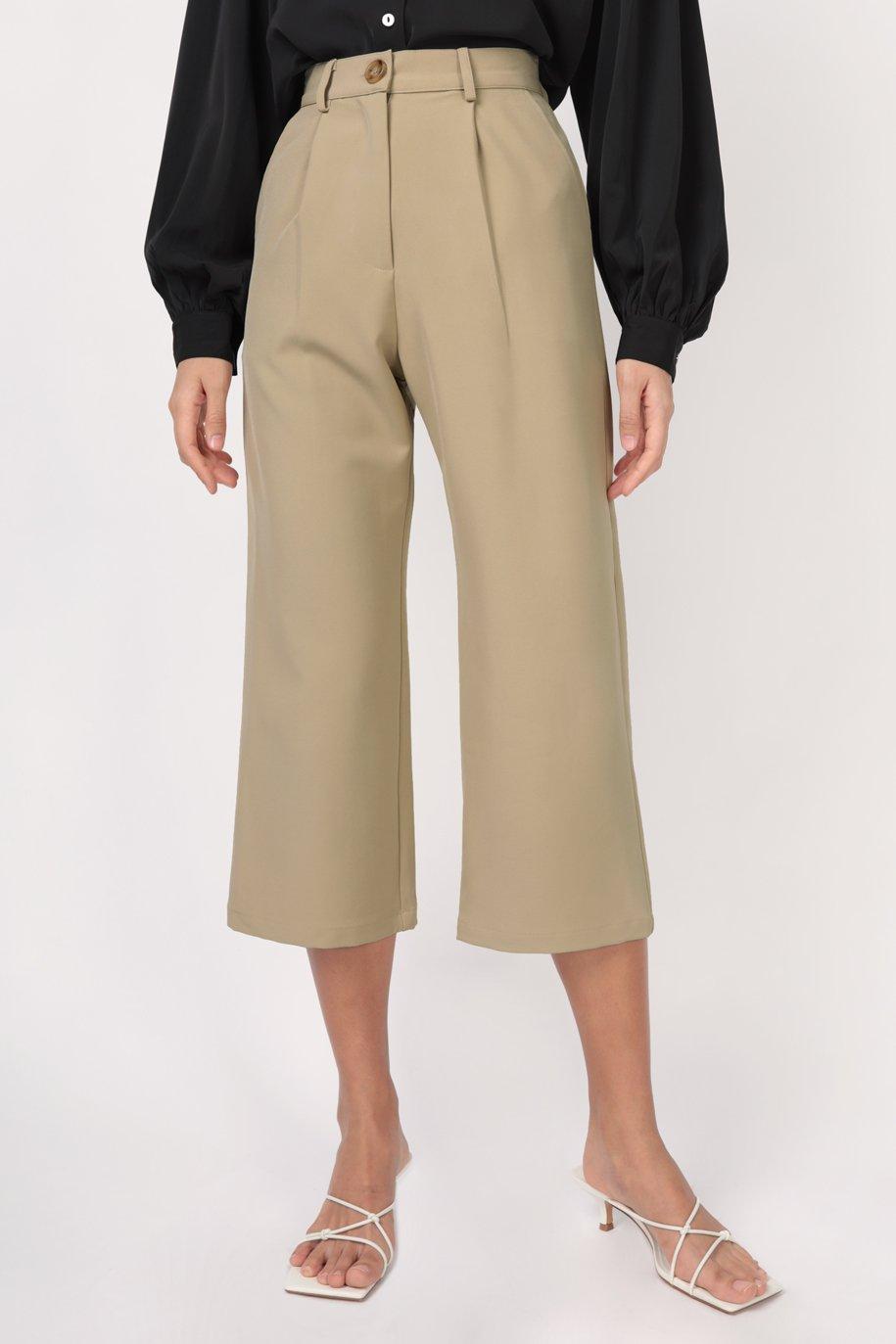 Cameron Straight Leg Pants (Pistachio)