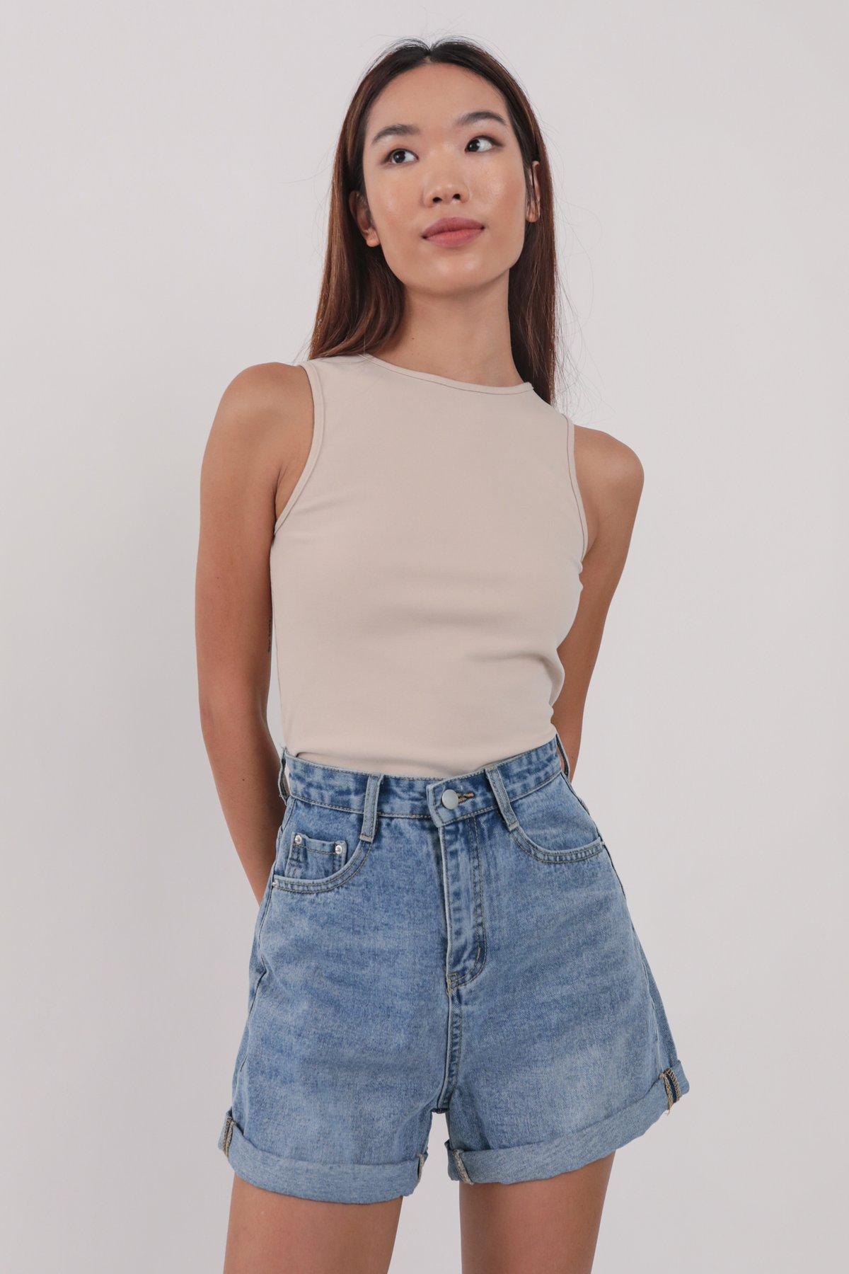 Everyday Denim Shorts (Vintage Wash)