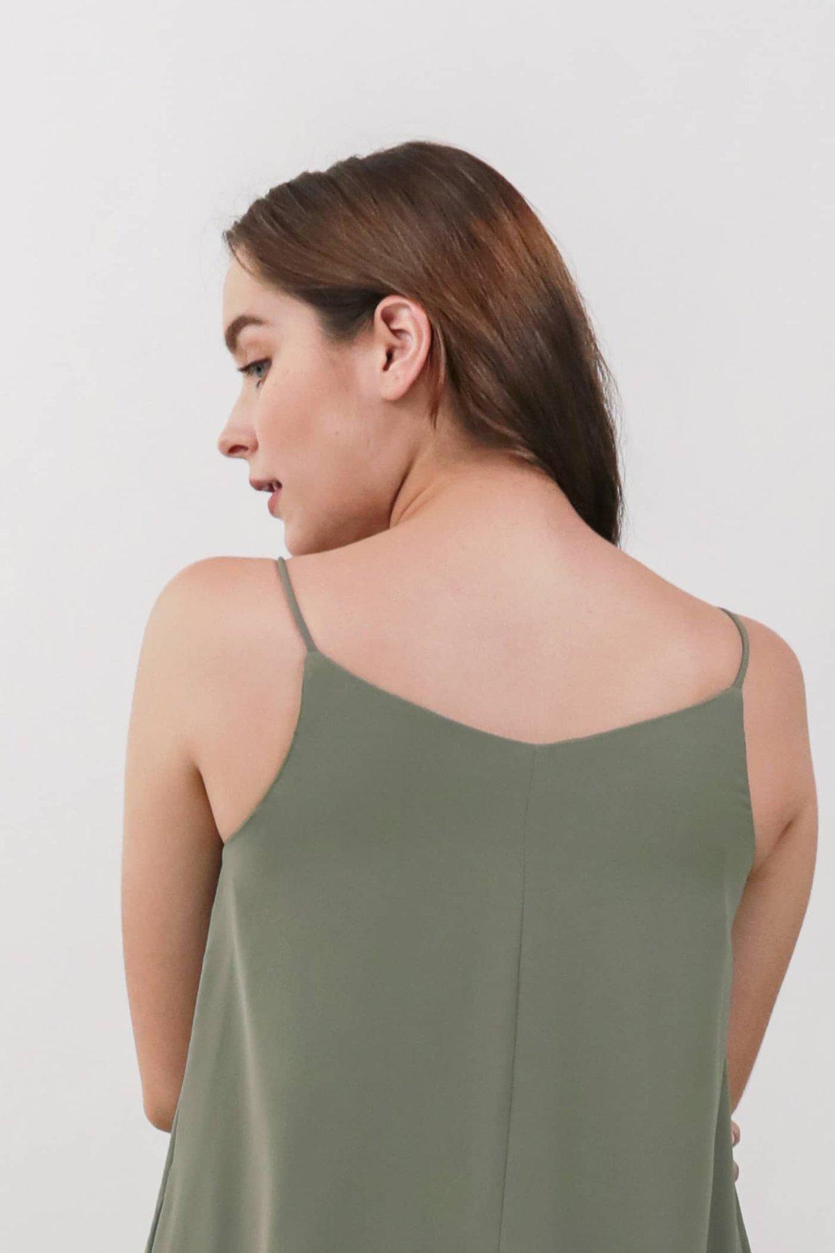 Faye Maxi Dress (Sage Green)