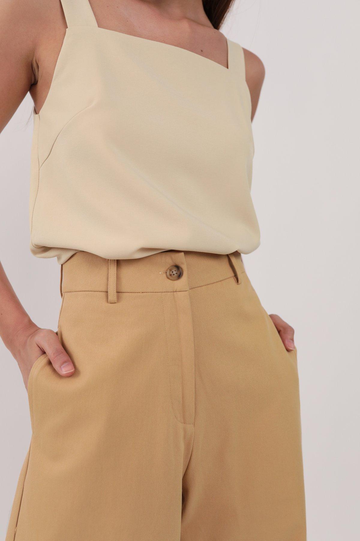 Kenzo Wide Leg Pants (Sand)