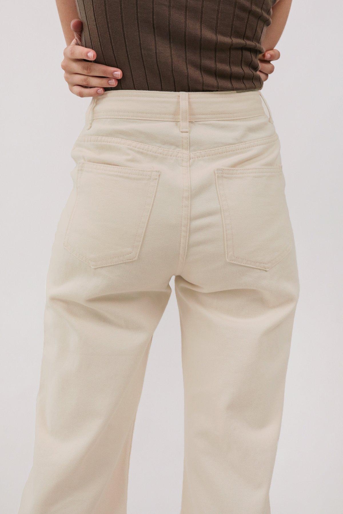 Newton Straight Leg Jeans (Oat)