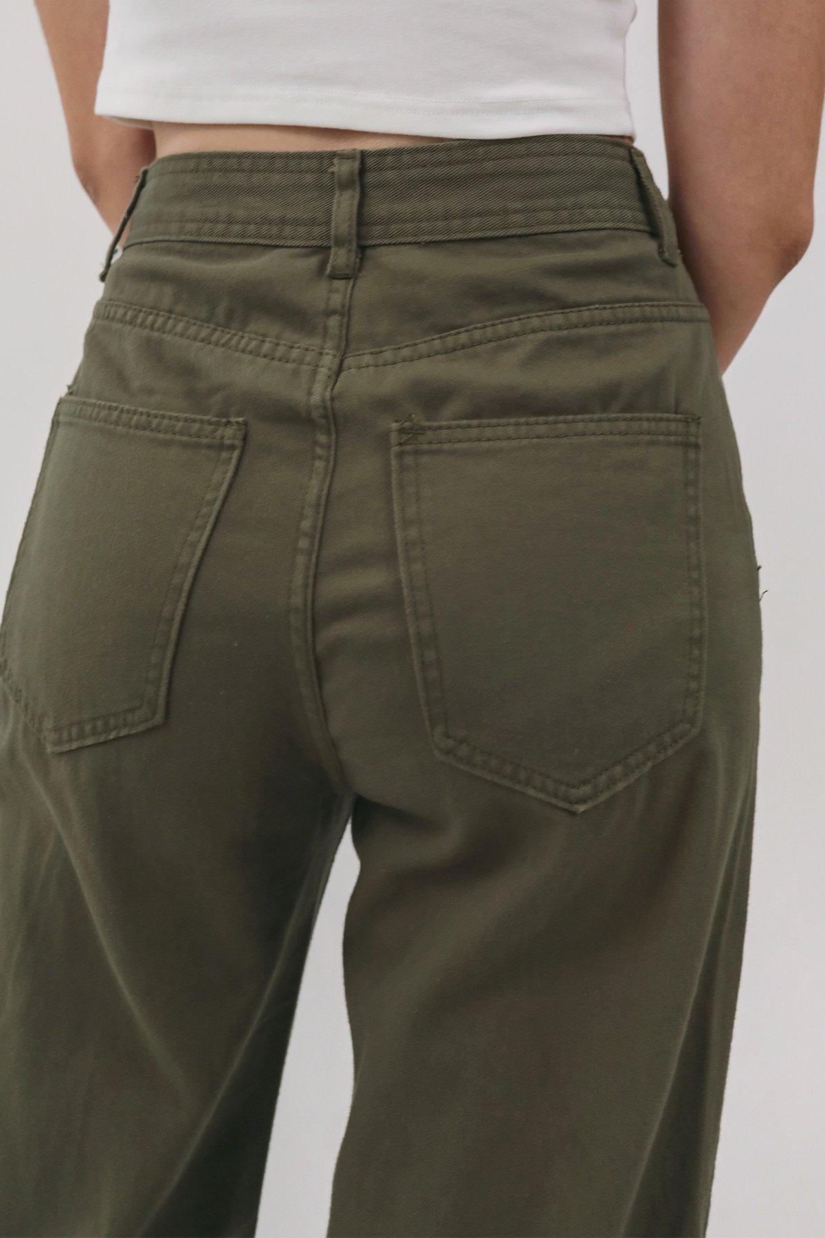 Newton Straight Leg Jeans (Olive)