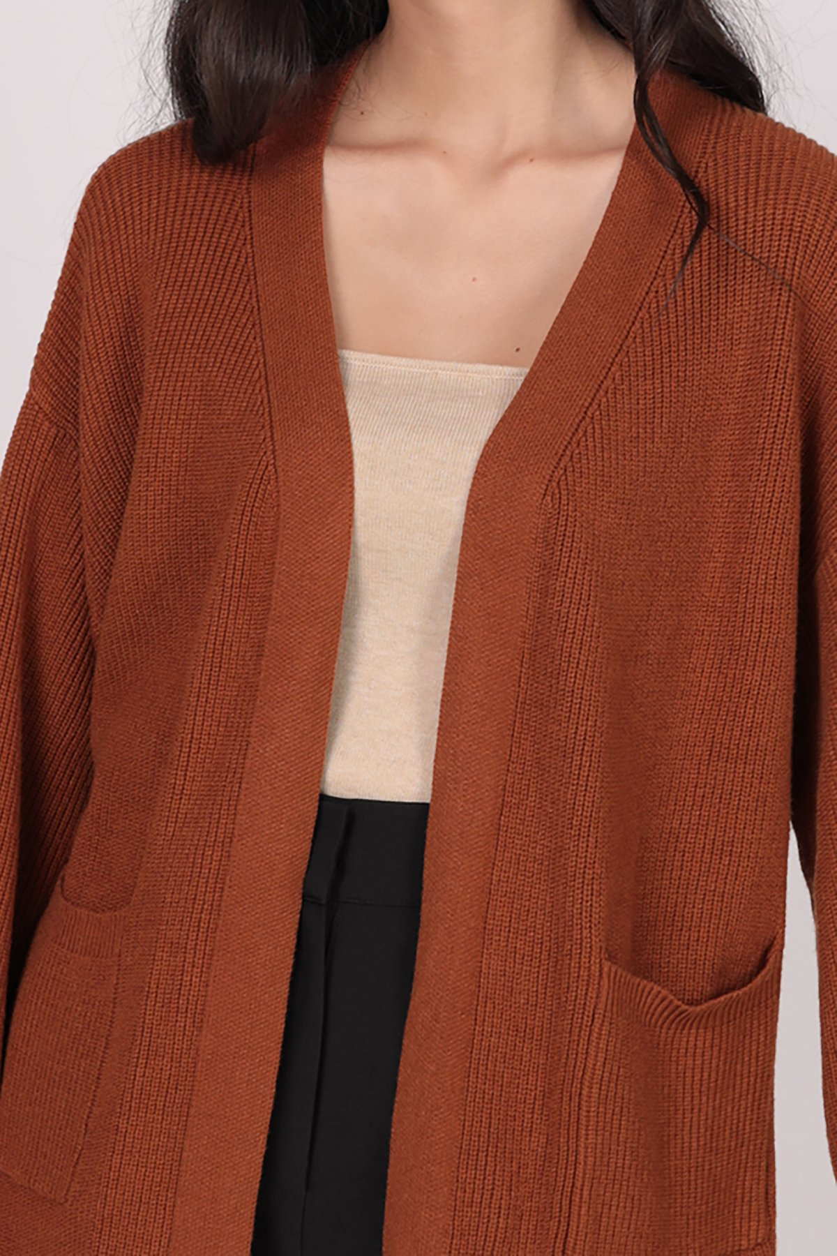 Oscar Knit Cardigan (Caramel)