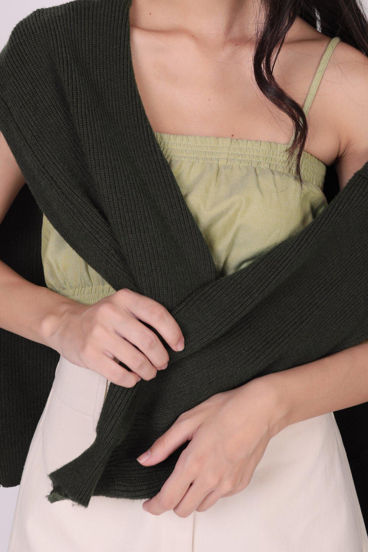 Oscar Knit Cardigan (Forest Green)