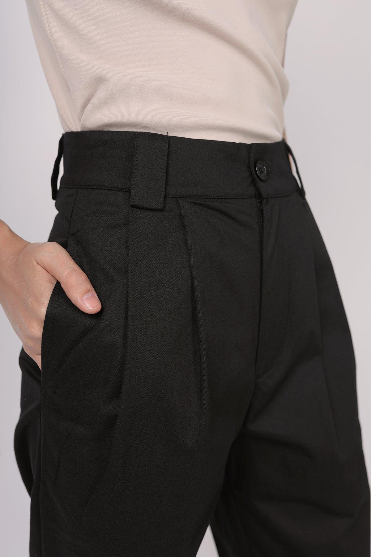 Rico Peg Leg Pants (Black)