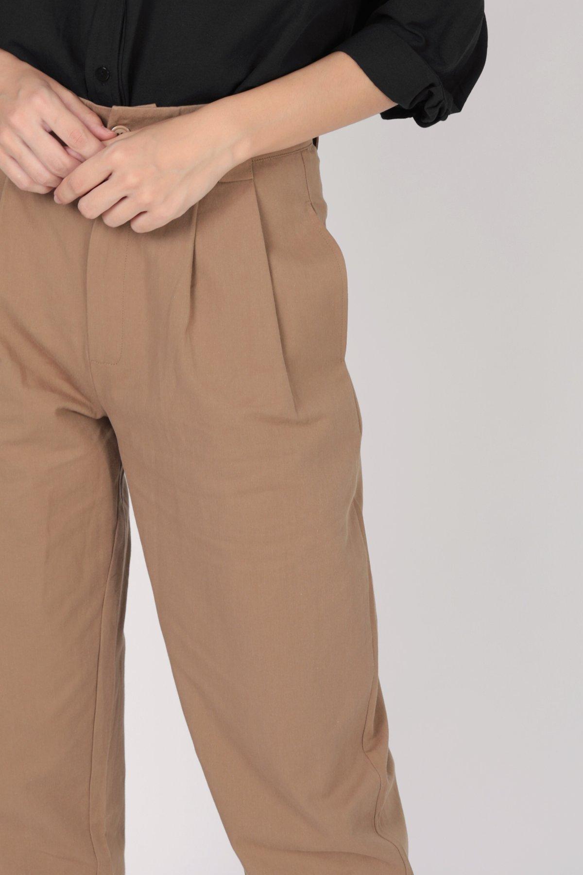 Rico Peg Leg Pants (Walnut)