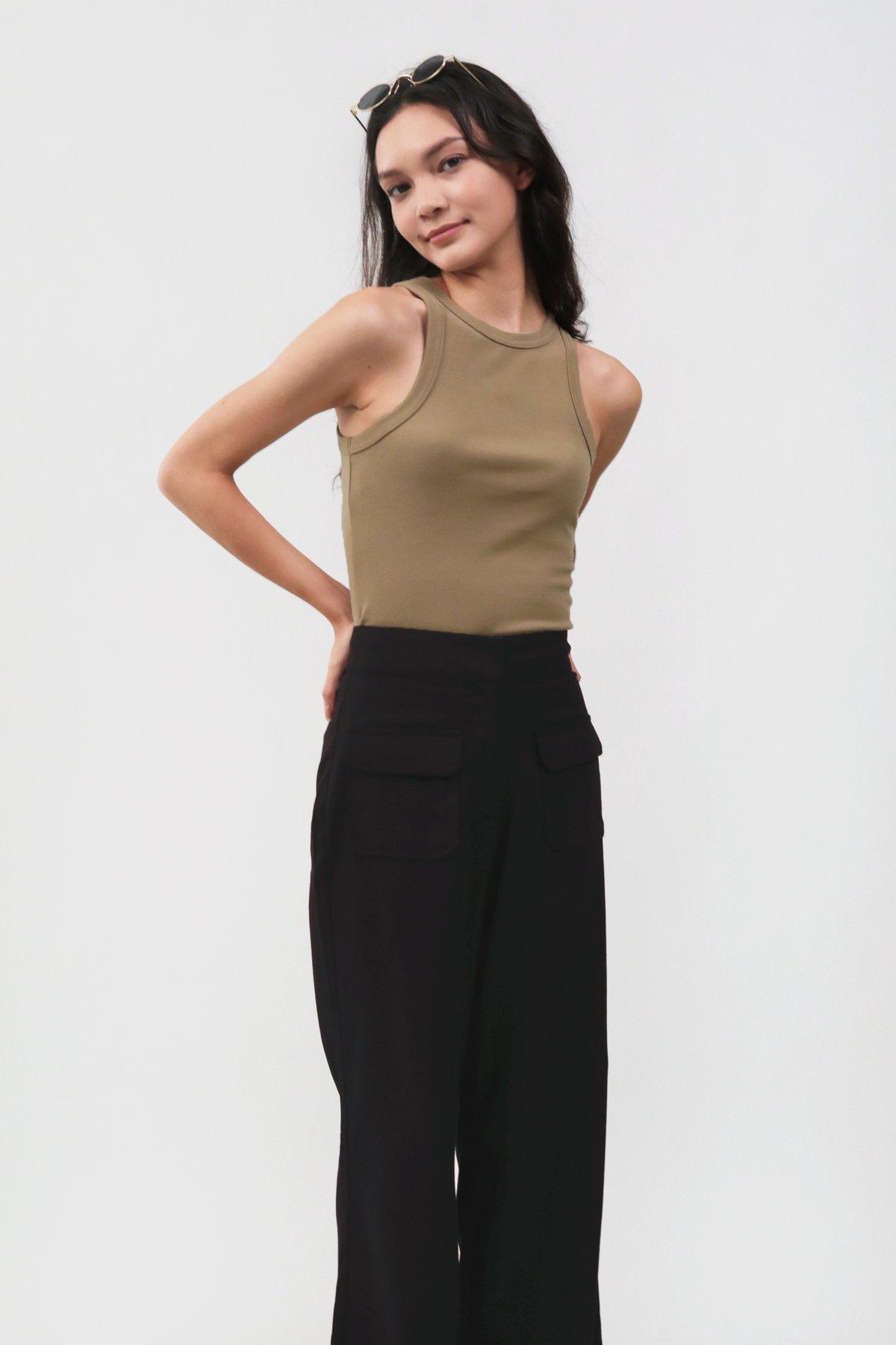 Archer Pocket Pants (Black)