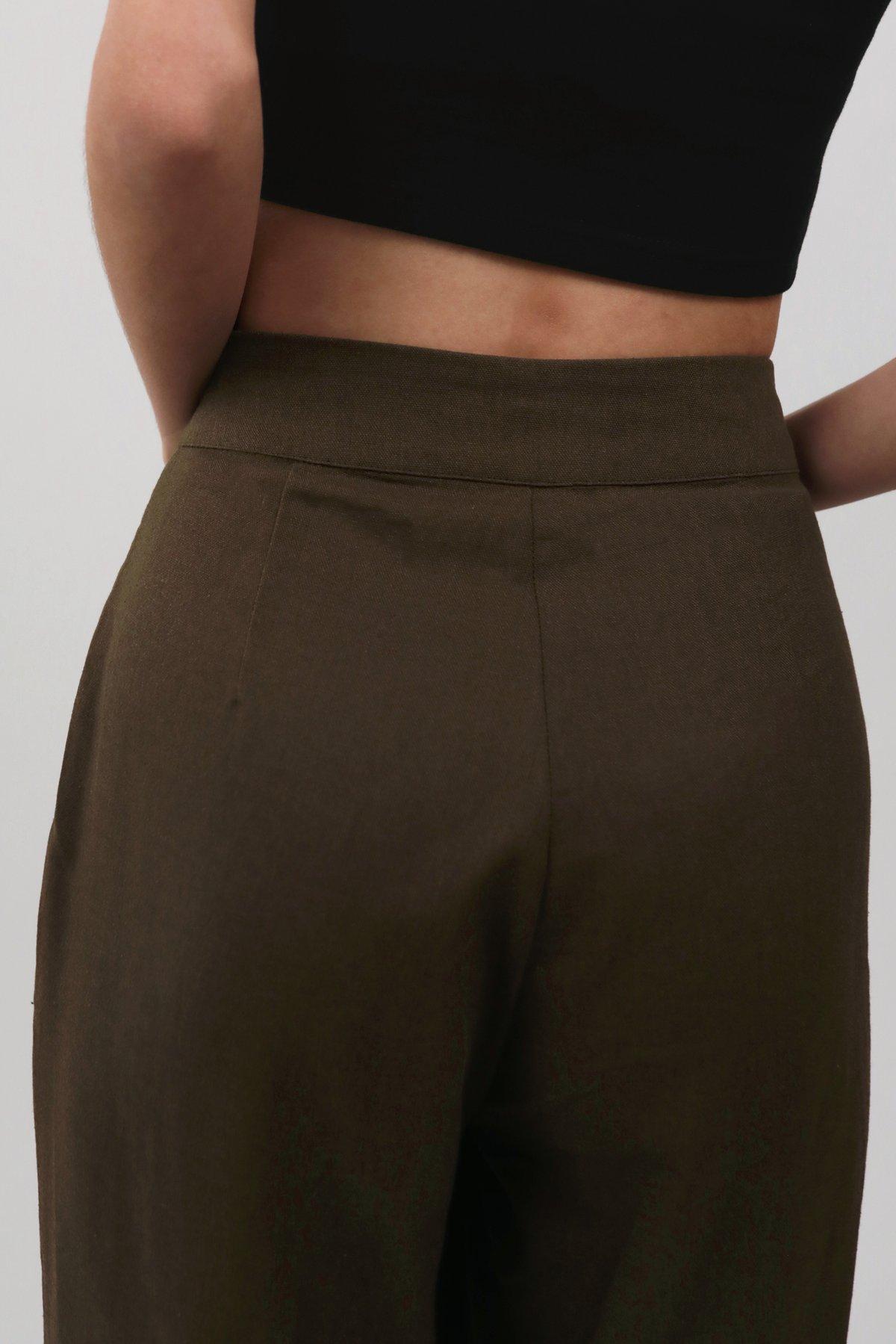 Archer Pocket Pants (Burnt Olive)