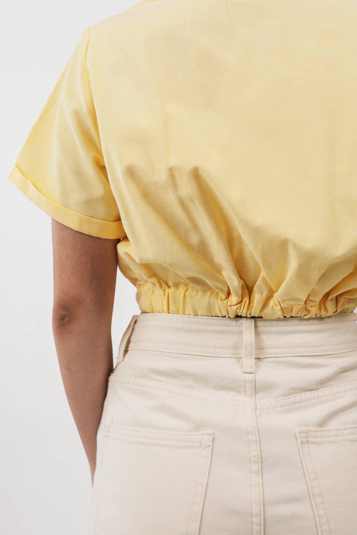 Clarke Pocket Top (Yellow)