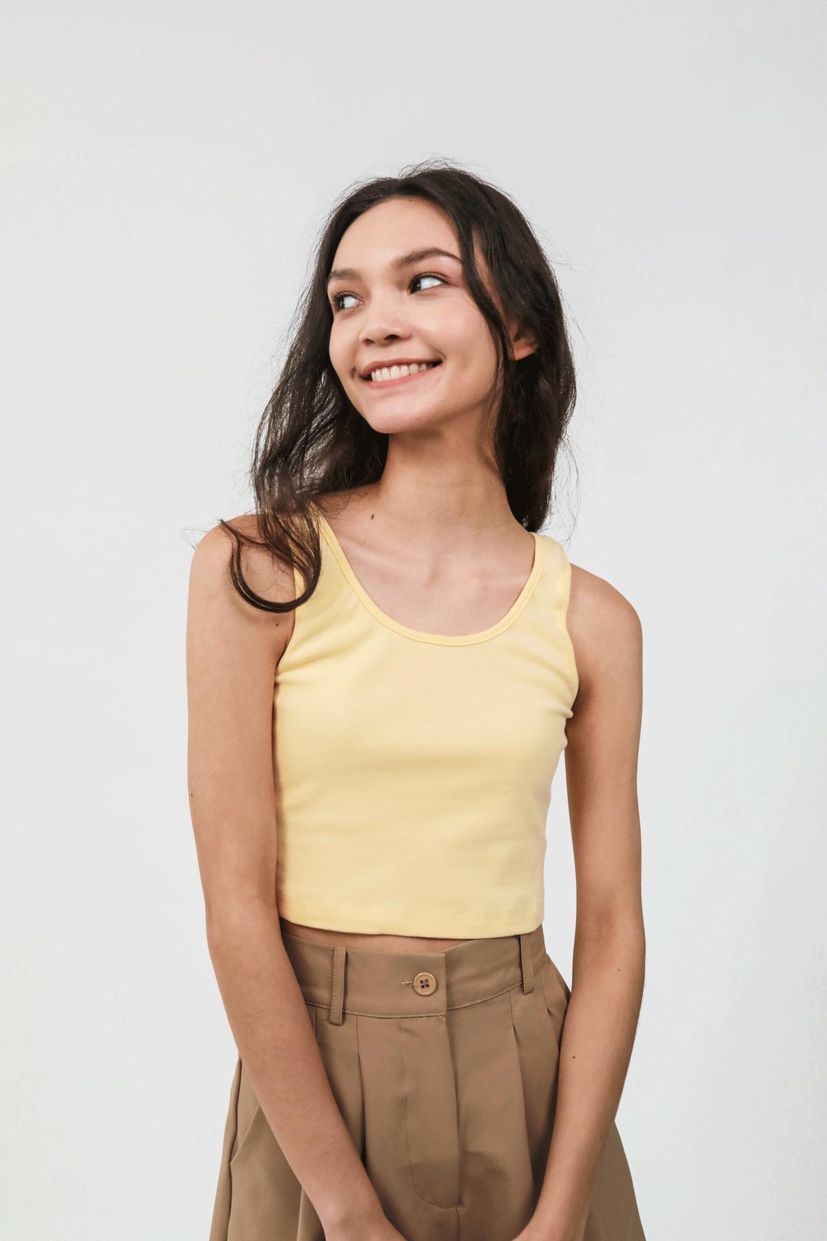 Edison Basic Top (Yellow)