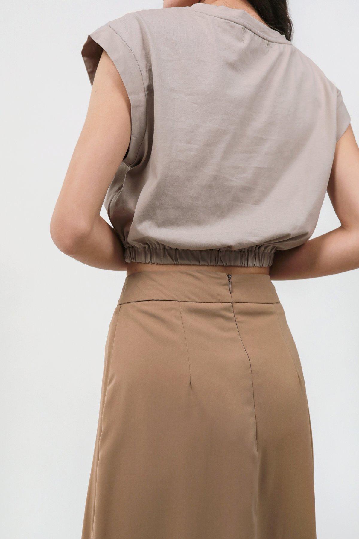 Issa Skirt (Brown)