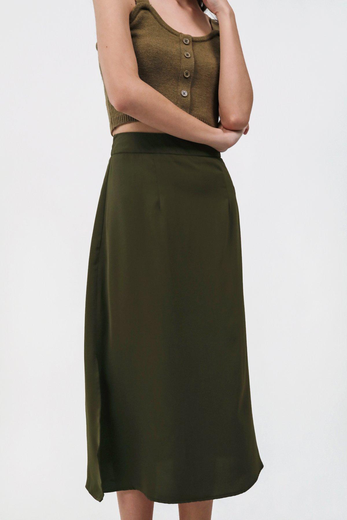 Issa Skirt (Olive)