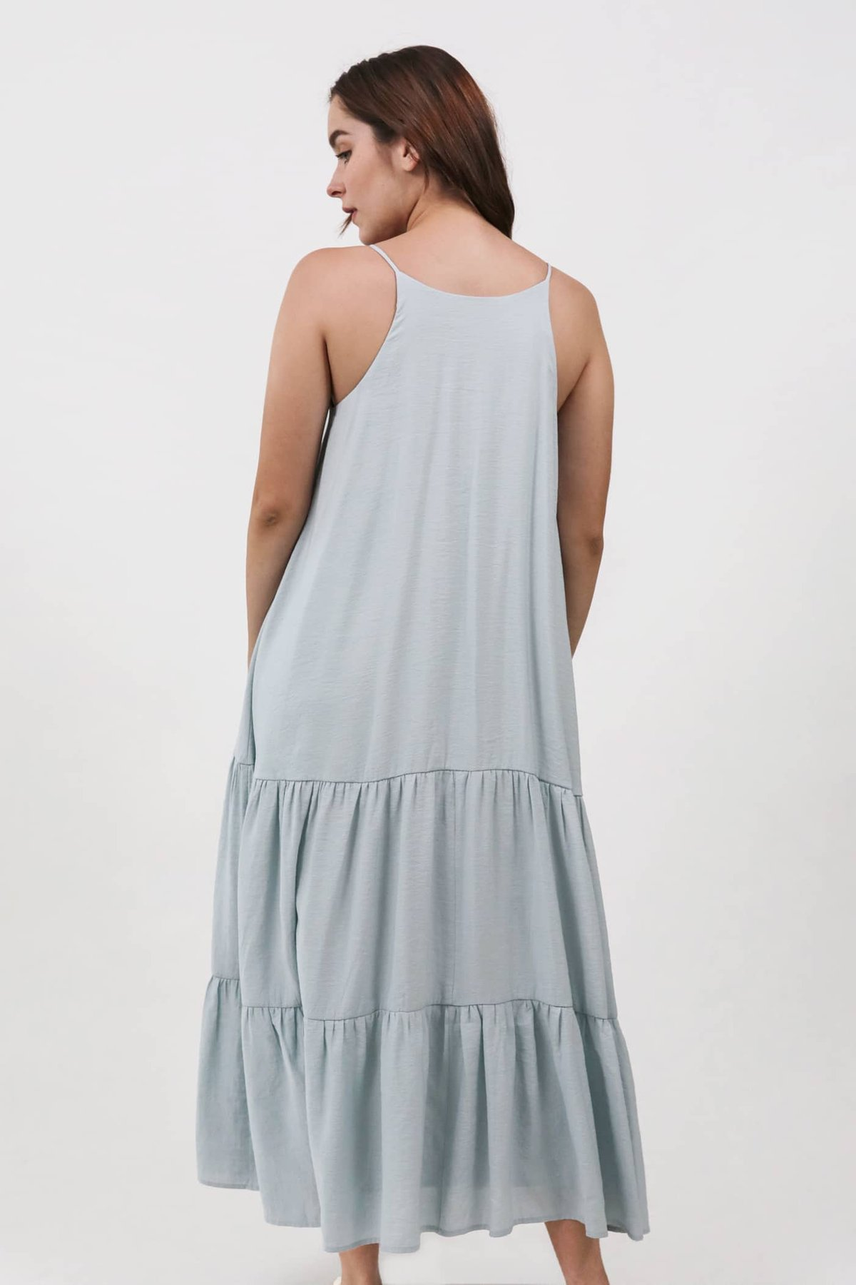 Zarah Two Way Maxi Dress (Misty Blue)
