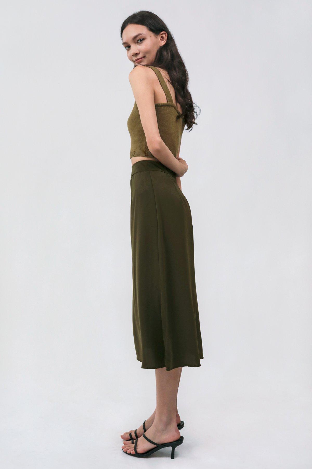 Arley Knit Bralet (Moss)