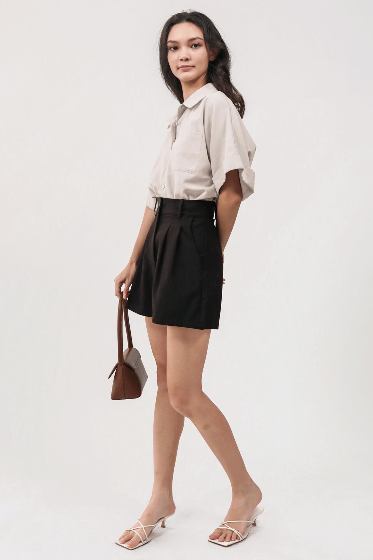 Dex Tailored Shorts (Black)