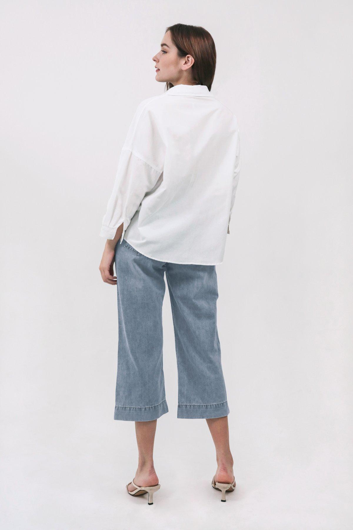 Sanford Boyfriend Shirt (White)