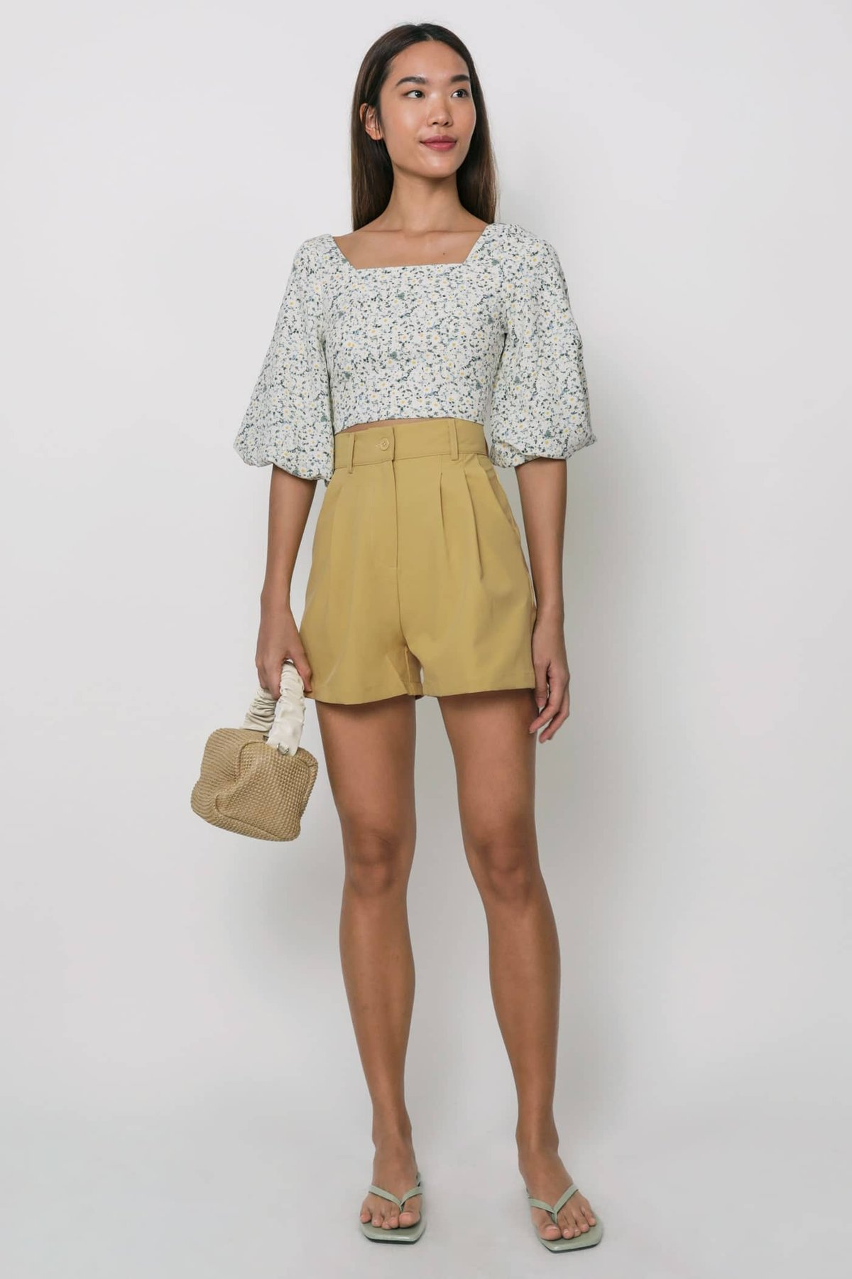 Dex Tailored Shorts (Honey)