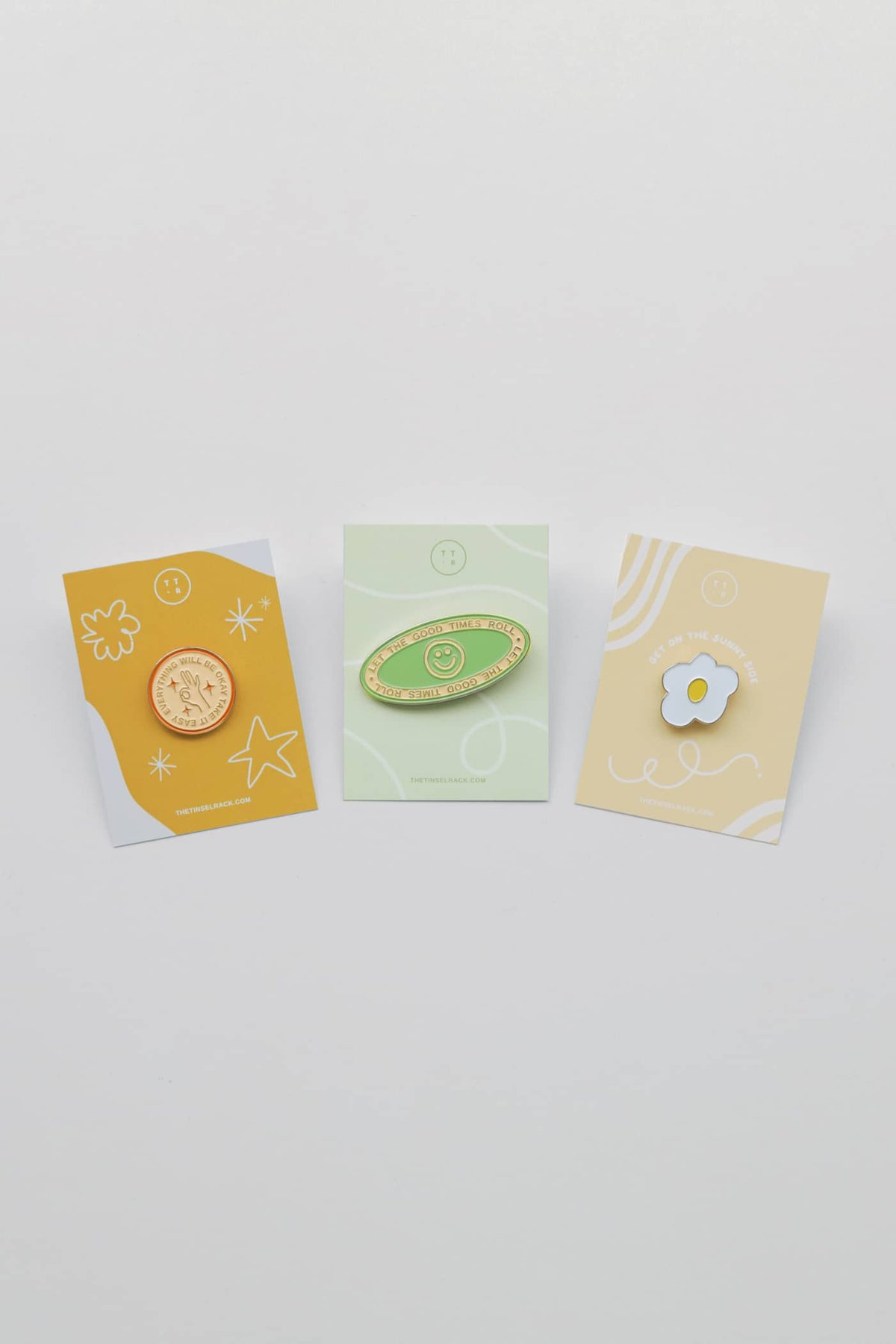 Good Times Only Enamel Pins (Set of 3)