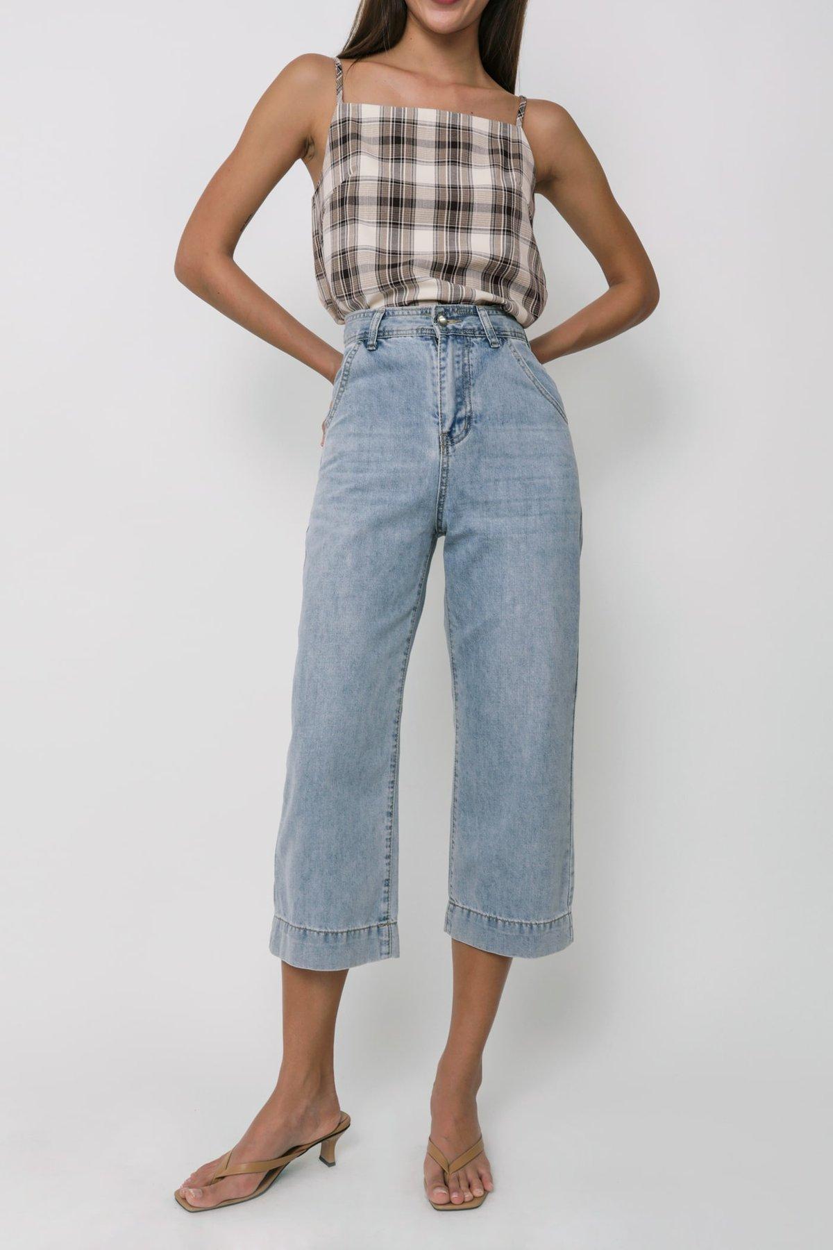 Newton Straight Leg Jeans (Mid Wash)