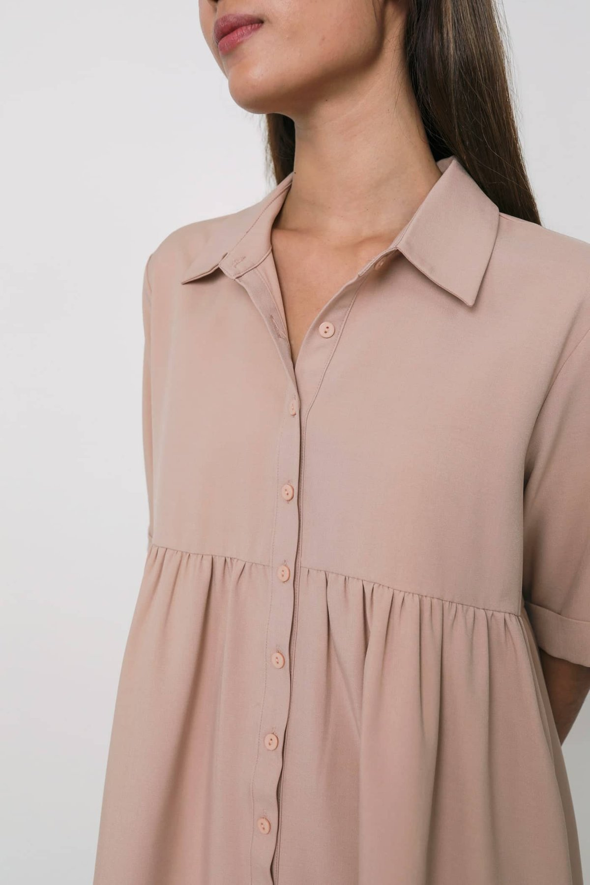 Perry Babydoll Dress (Pink)