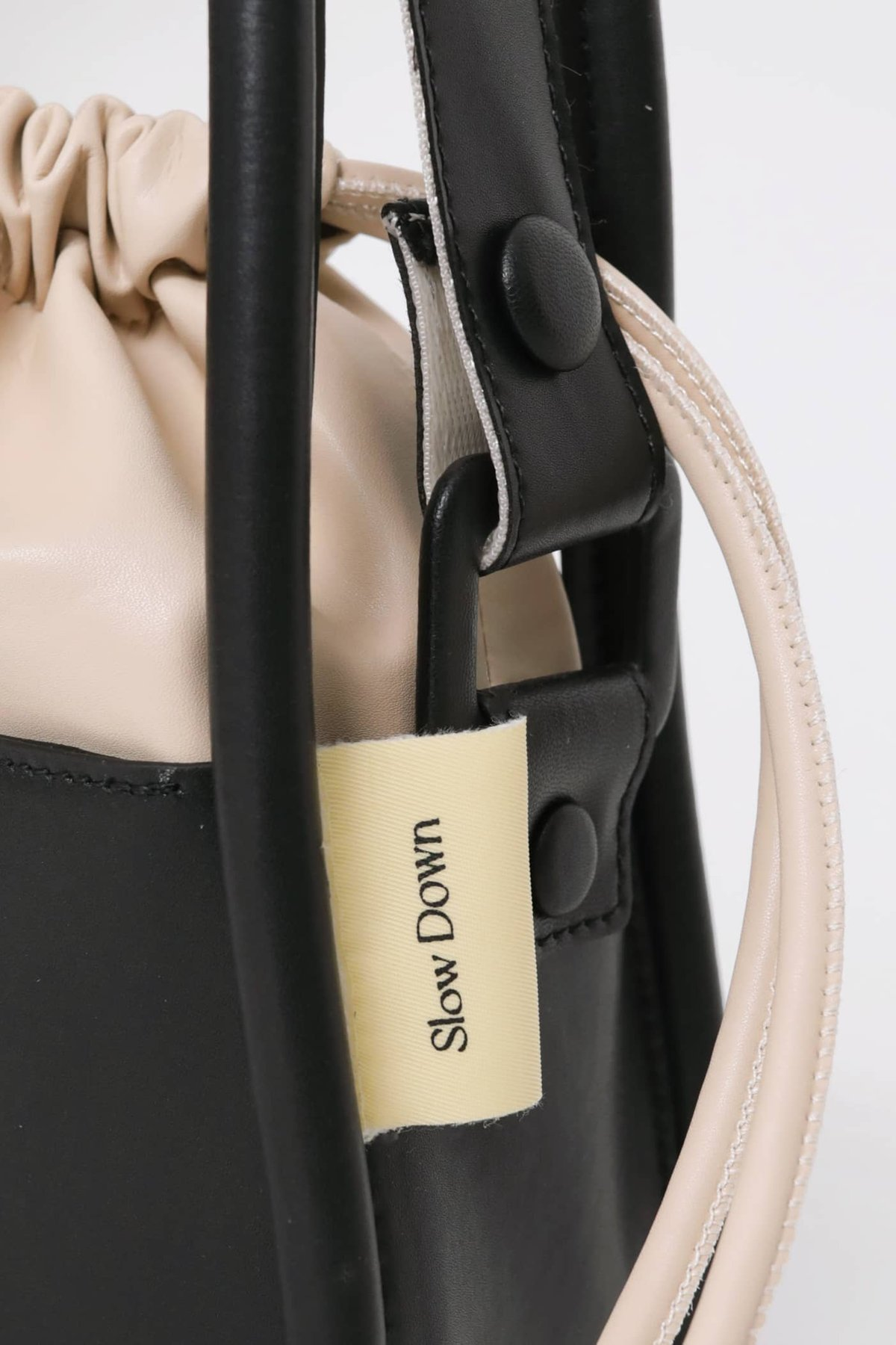 Take It Slow Bucket Bag (Black) (TTR x Cream Couch)