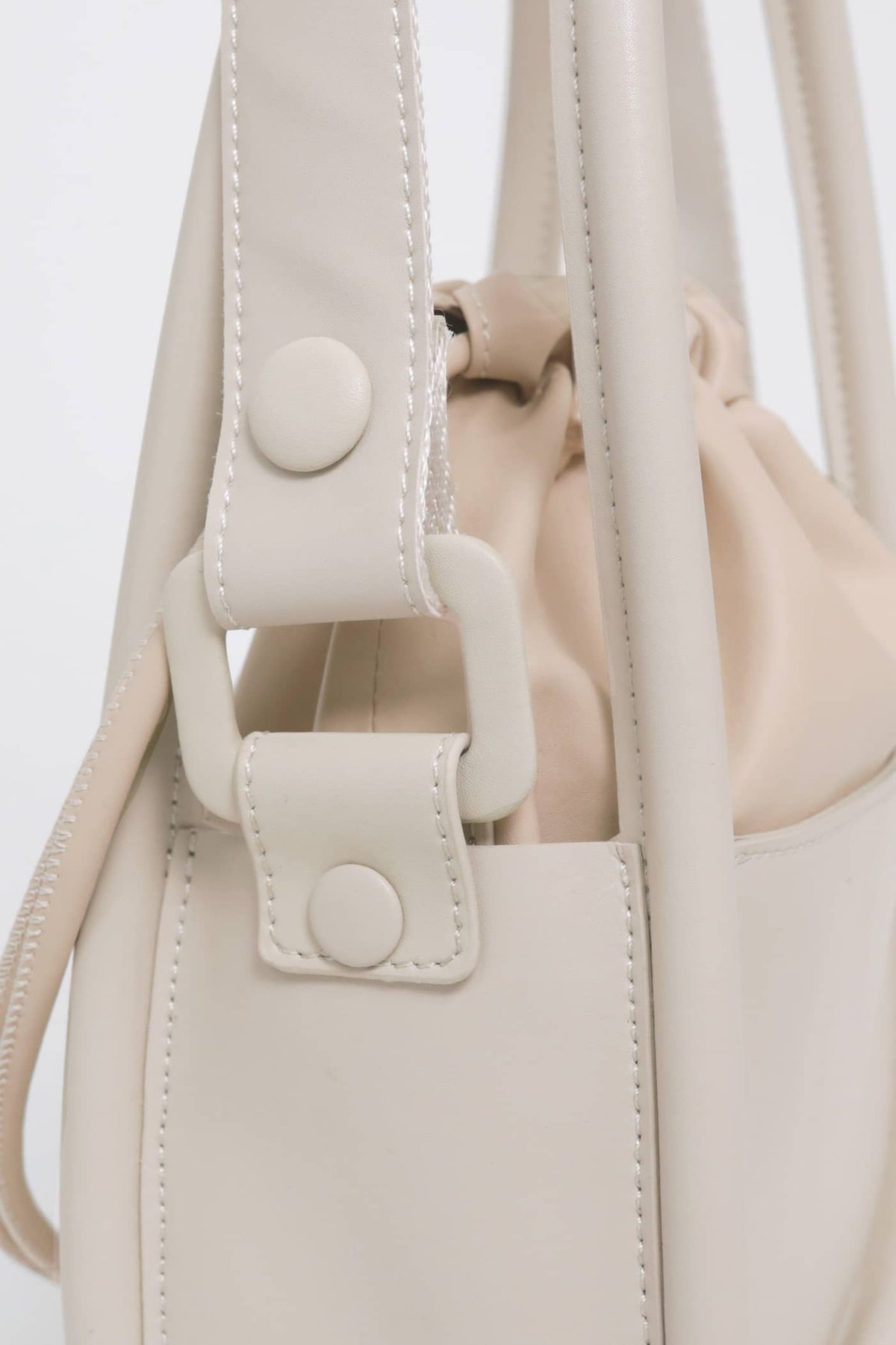 Take It Slow Bucket Bag (Cream) (TTR x Cream Couch)